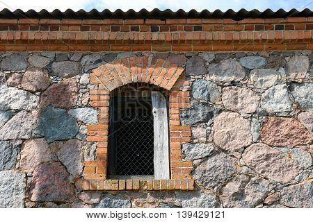 Window - Architectural detail of the building, opening in the wall, which serves for admission of light into the room