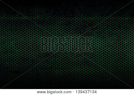 black green and rust metallic mesh background texture.