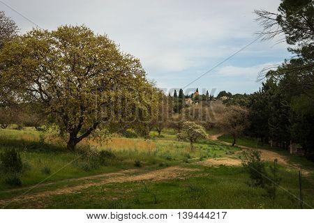Monastery On Mount Filerimos, Rhodes, Greece