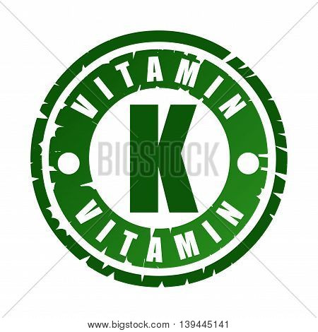 Rubber Stamp With Vitamin K