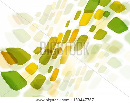 Glossy modern geometrical abstract background.