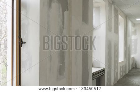 construction and repair of walls and ceilings in housing