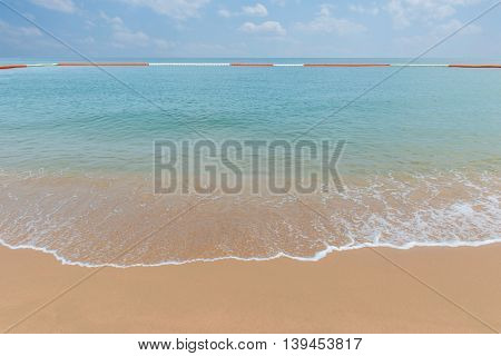 Tropical Beach In Phuket Andaman Sea Thailand