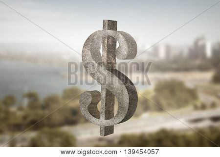 Safe deposit symbol .  Mixed media
