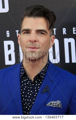 LOS ANGELES - JUL 20:  Zachary Quinto at the
