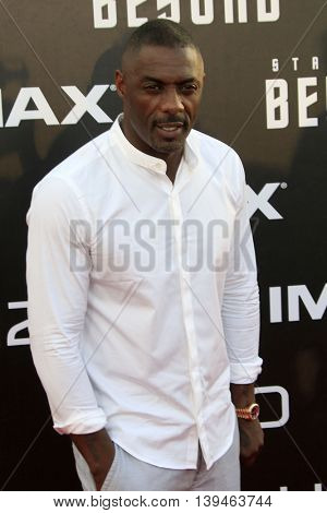 LOS ANGELES - JUL 20:  Idris Elba at the