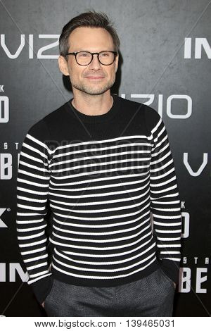 LOS ANGELES - JUL 20:  Christian Slater at the