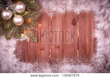 Christmas and New Year background.