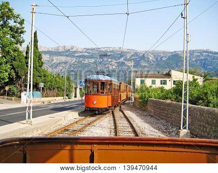 Tram Of Soller - Port De Soller, Majorca