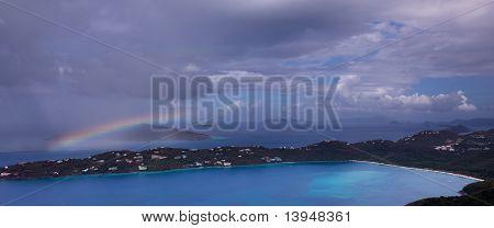 Storm Over Magens Bay On St Thomas Usvi