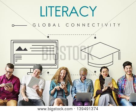 Education Global Connectivity Graphic Concept