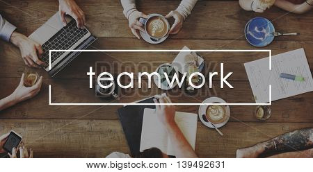 Teamwork Dreamwork Alliance Cooperation Unity Concept