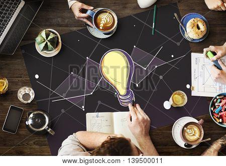 Ideas Progress Vision Inspiration Design Concept