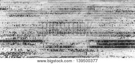 view of white marble stairs pattern background
