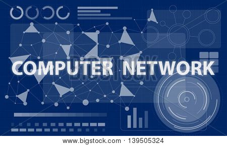 Computer Network Internet Connection Digital Concept