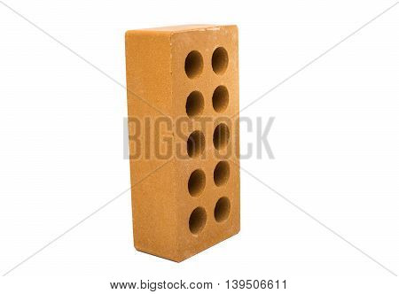 industrial, bricks isolated on a white background