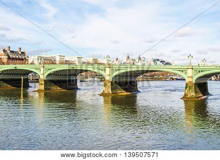 River Thames London Hdr