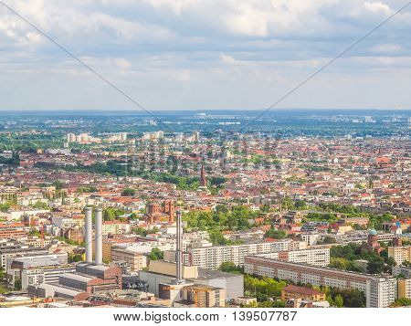Berlin Aerial View Hdr