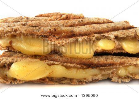 Sandwich mit geschmolzenem Käse