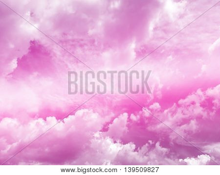 sky and cloud background pink gradient colors