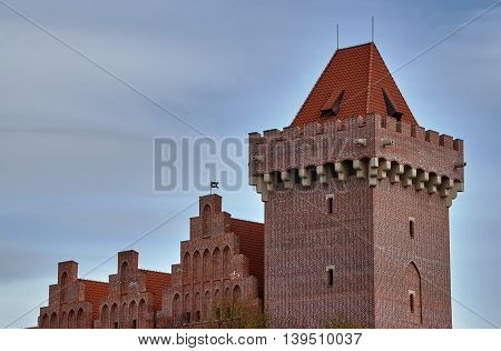 The tower of the royal castle in Poznan