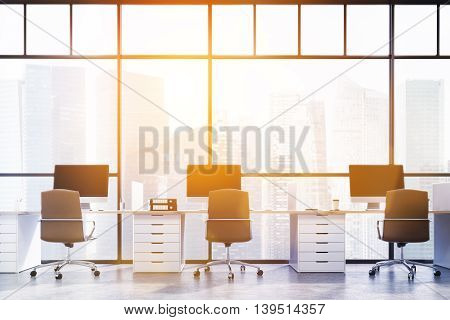 Big City Office Room