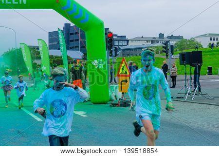 The Color Run, In Reykjavik