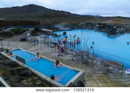 The Myvatn Naturebaths
