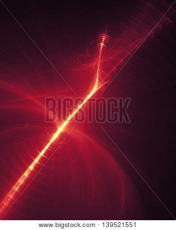 Wavy abstract background for science and technology concepts