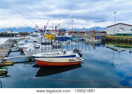 Fishing Harbor Of Husavik