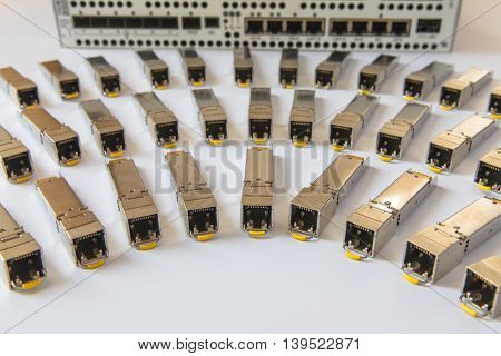 Internet SFP network modules for network switch