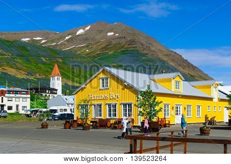 The Fishing Town Siglufjordur
