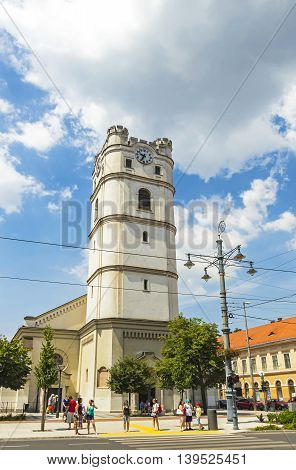 Reformed Church In Debrecen, Hungary