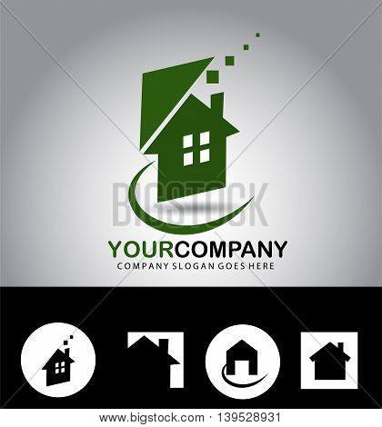 Real estate logo building,home sale icon isolated on background