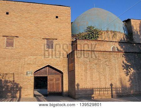 Madrassah of Almazar in the city of Tashkent the capital of Uzbekistan