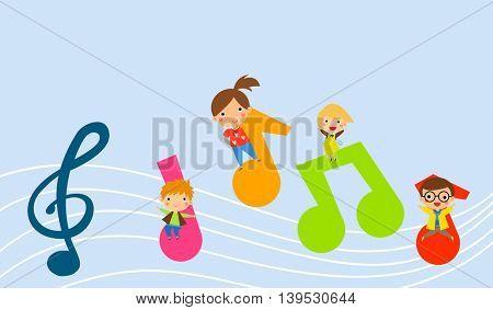 Music and children