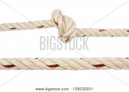 Heart Rope Knot Isolated
