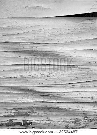 Crack Wooden Board Background