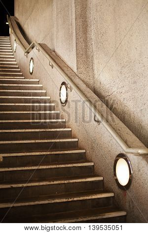Staircase To Building