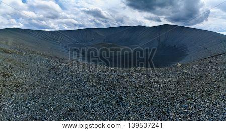 Hverfjall. Near Lake Myvatn