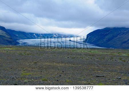 Skaftafellsjokull Glacier, South Iceland