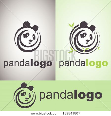 panda logo concept designed in a simple way so it can be use for multiple proposes like logo ,mark ,symbol or icon.pt designed in a simple way so it can logo can be use for multiple proposes like logo ,marks ,symbols or icons.