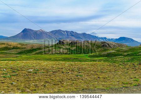Landscape In The Vatnsnes Peninsula