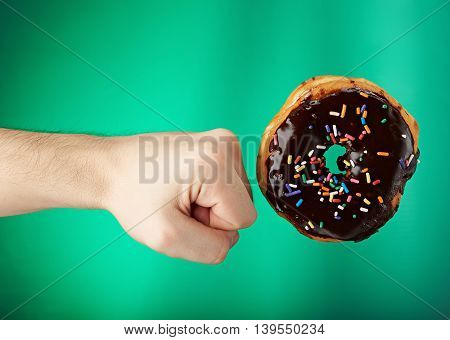 Donut Got Kicked