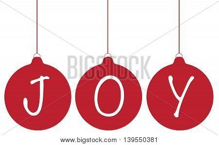 Joy Merry Christmas Decoration Tree Ornament Balls