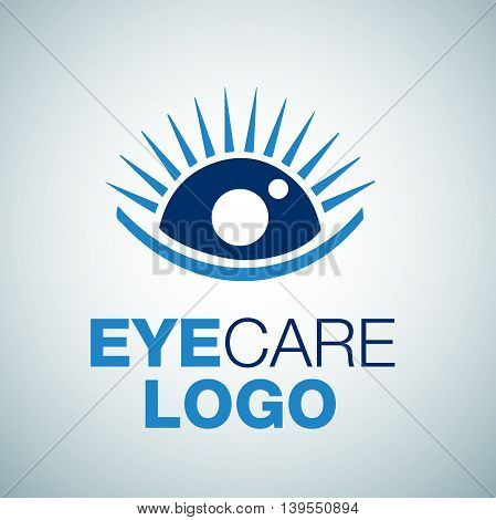 eye care 2 logo concept designed in a simple way so it can be use for multiple proposes like logo ,marks ,symbols or icons.