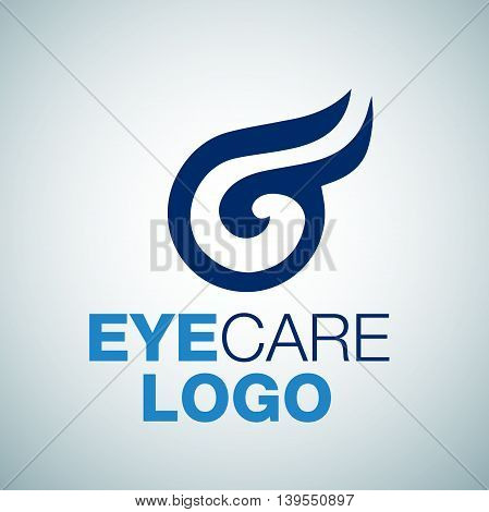 EYE CARE 1 logo concept designed in a simple way so it can be use for multiple proposes like logo ,marks ,symbols or icons.
