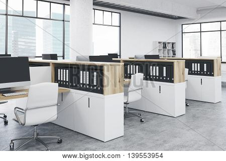 Coworking Office Sideview