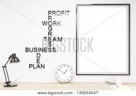 Minimalist Working Space