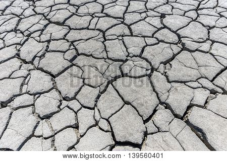 Rainless in countryside dramatic ground concept, background